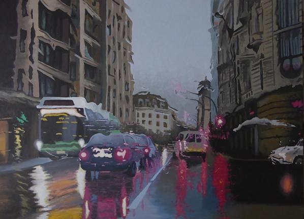 cuadro de José Ramón Muro Pereg, pintor artístico